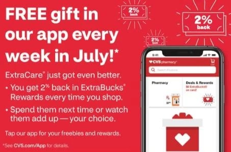 free gift july from cvs
