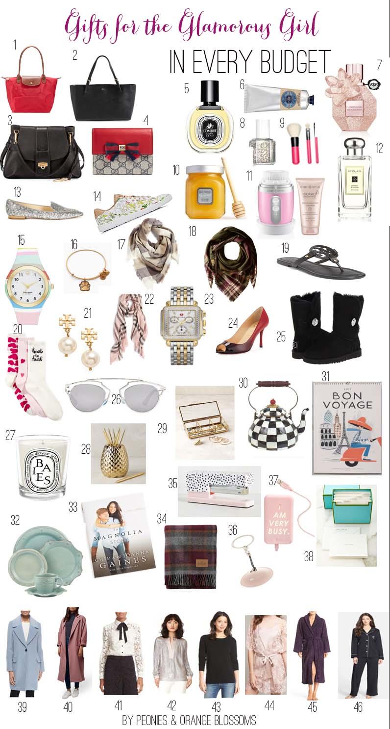 Glamorous Girl Gift Guide 2016