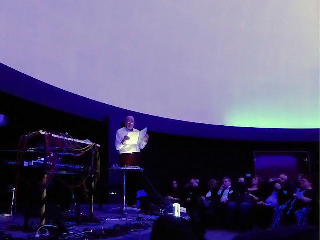 Hans-Joachim Roedelius live @ Schallwelle Awards / photo S. Mazars