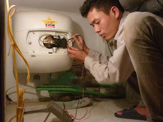 Sửa bình nóng lạnh Sanaky tại Hà Nội