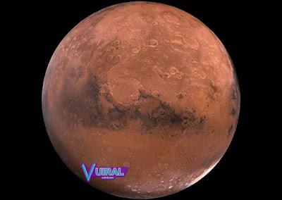 Gambar Planet Mars Dan Ciri Cirinya