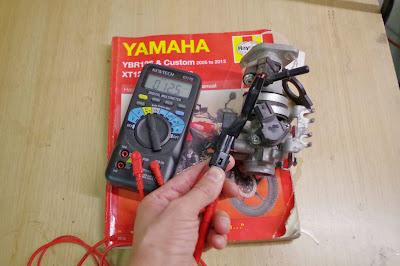 ybr125 injector