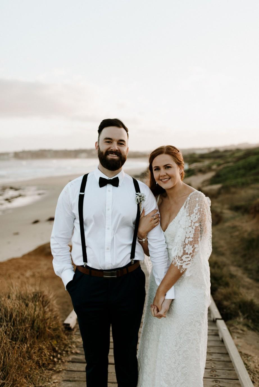 LOVE: LIZZIE AND JOSH | COASTAL WEDDING NEWCASTLE NSW