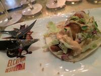 Baja Cod Tacos at El Catrin