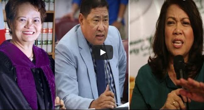 Justice Teresita De Castro 'TESTIFIES' against Chief Justice Sereno | IMPEACHMENT HEARING
