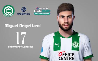 PES 2021 Faces Miguel Ángel Leal by CongNgo