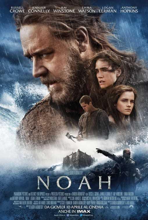 Poster Noah 2014 Full Movie Dual Audio Free Download 300Mb