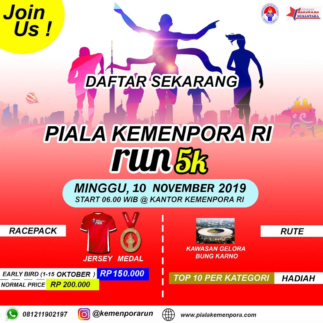 Kemenpora Run • 2019