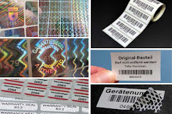 Nummerierte Elektro-Etiketten