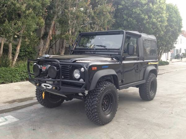 1995 Land Rover Defender 90 Fully Loaded | Auto Restorationice