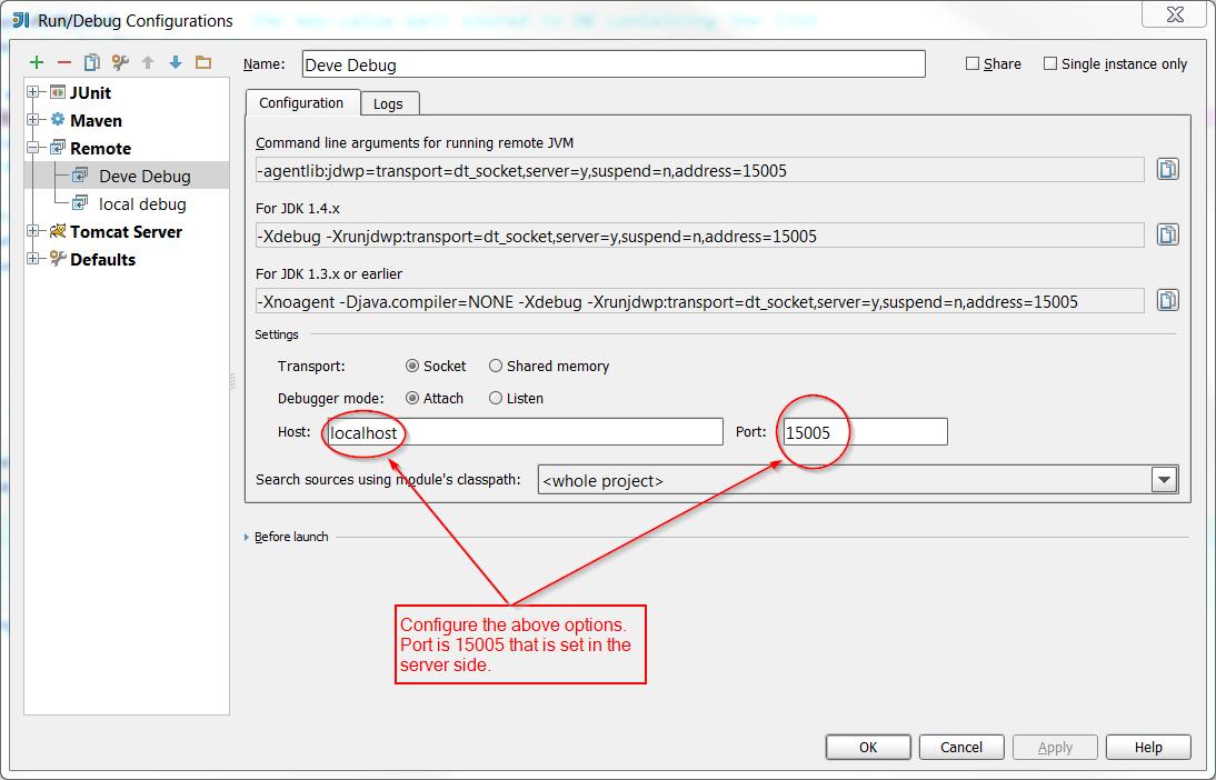 Ojitha Kumanayaka: Remote Debugging Tomcat 6 using SSH tunnel