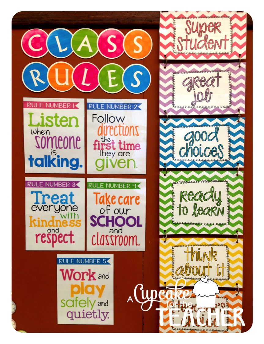 Classroom Cleaners Design ~ Classroom reveal a cupcake for the teacher
