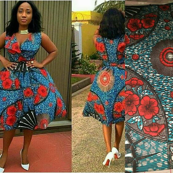 924eb30939 Ankara Xclusive  2018 Current African Dresses  Latest Elegant and ...