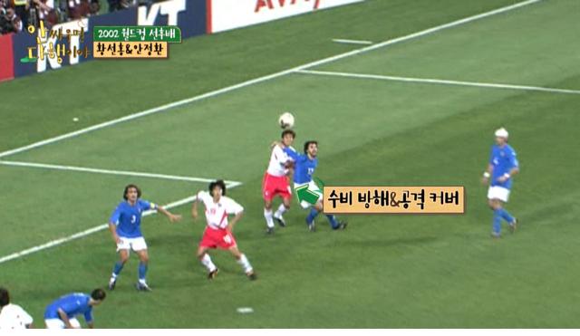 2002 월드컵 이탈리아전 안정환 골든골이 부러웠던 황선홍 - 꾸르