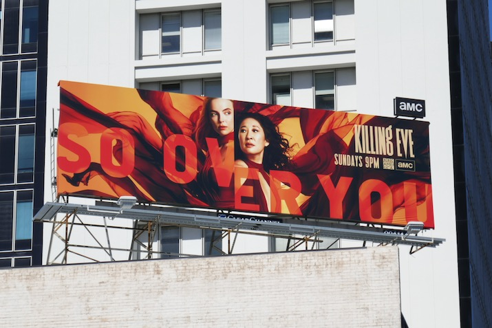 Killing Eve season 3 billboard
