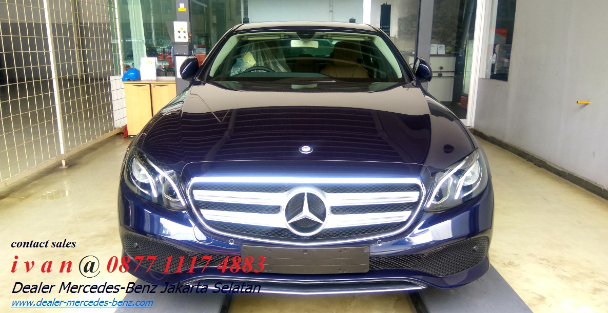 Mercedes benz e class w213 ckd indonesia 2017 dealer for Mercedes benz service b coupons 2017