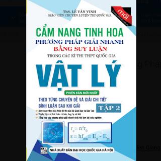 Cẩm Nang Tinh Hoa Phương Pháp Giải Nhanh Bằng Suy Luận Vật Lý (Tập 2) ebook PDF-EPUB-AWZ3-PRC-MOBI