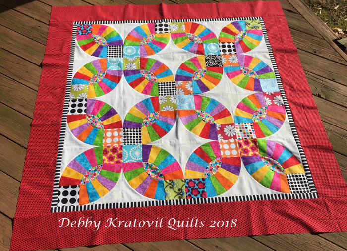 Debby Kratovil Quilts Is It Pickle Dish Or Double Wedding