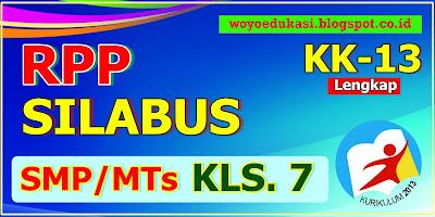 RPP DAN SILABUS KURIKULUM 13 SMP KELAS 7 - LENGKAP