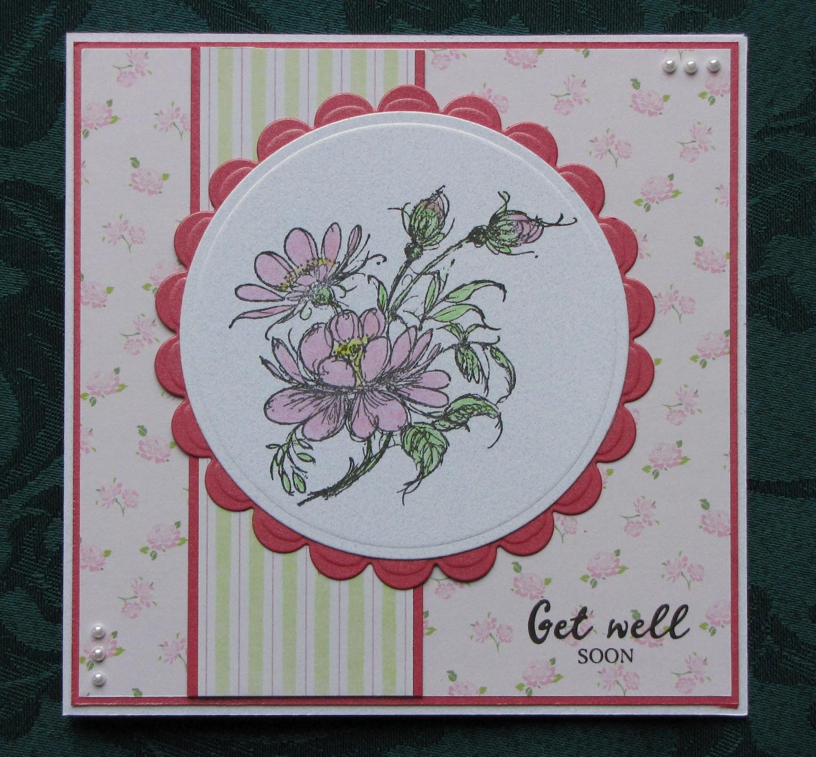 Handmade By Kath: Get Well Soon