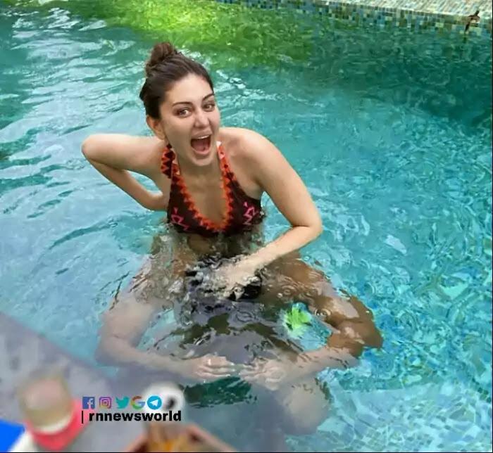 Shefali Jariwala Swimming Pool pic