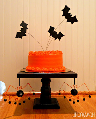 Bat Cake Toppers