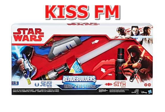 Castiga o sabie Star Wars BladeBuilders Drumul puterii 2 în 1 cu EUROPA FM