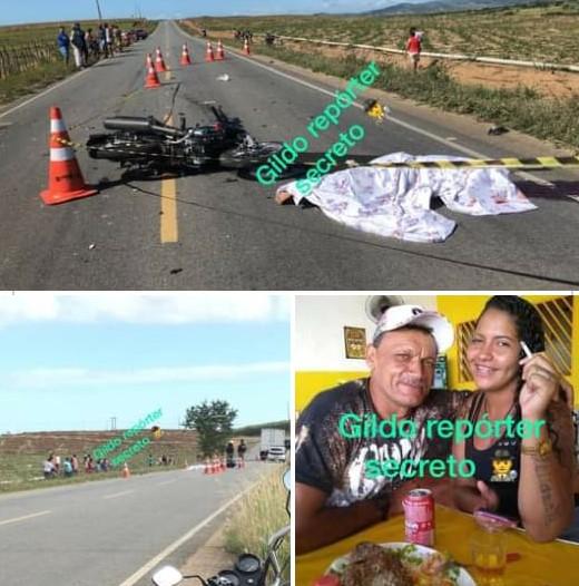 Homem mata mulher a facadas, depois provoca acidente e morre na PB