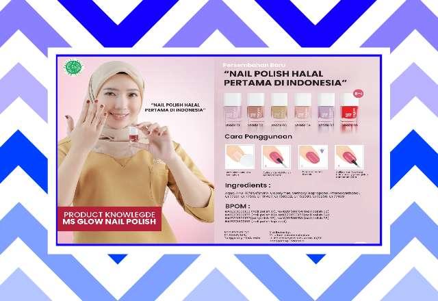 Nail Polish HALAL Pertama di Indonesia, Buruan Beli Begini Caranya!
