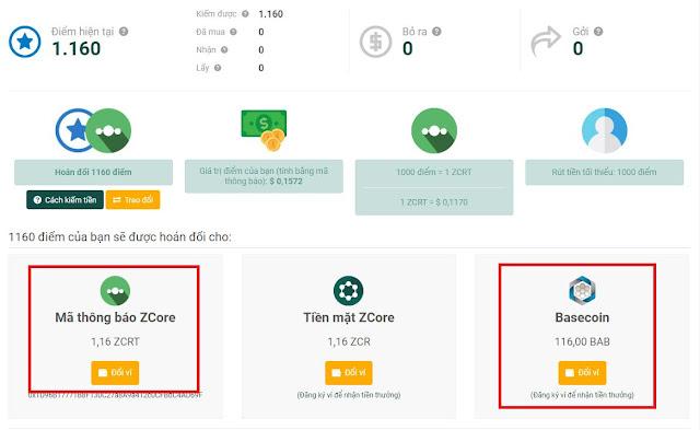 Zcore là gì ? Hướng dẫn kiếm FREE 1$-50$/ngày  từ mạng xã hội Zcore