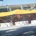 Escuela cerrada a causa del sismo es usada para hacer fiesta