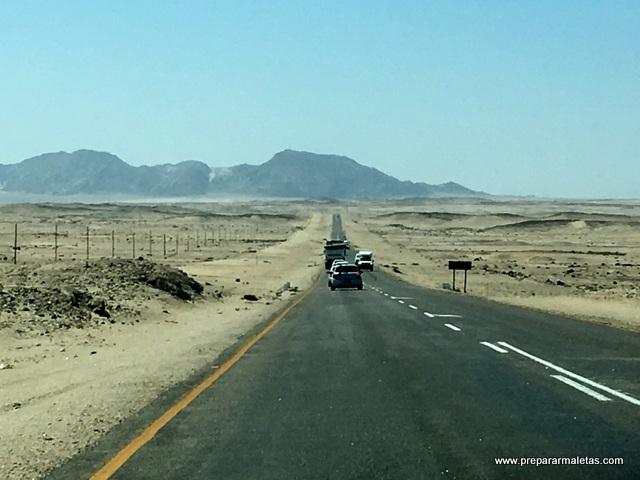 consejos conducir por Namibia