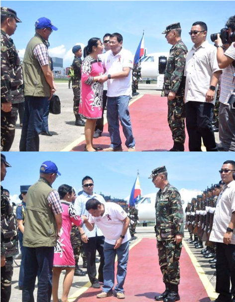 President Duterte Kisses Hand Of A Mayor Who Campaigned Against Him. Find Out What Happened Next!
