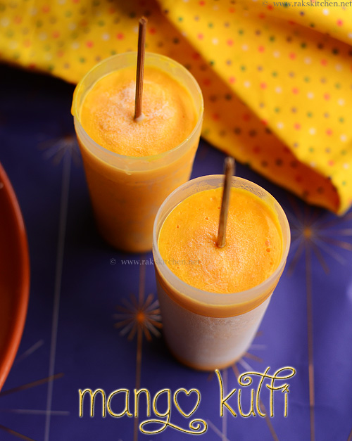 Mango kulfi recipe indian mango recipes raks kitchen mango kulfi is a rich milk based frozen mango dessert that can be easily made and enjoyed at home i have never tasted a kulfi in my life forumfinder Gallery