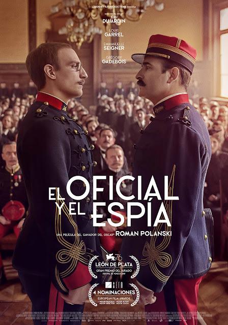 Póster 'El oficial y el espía'