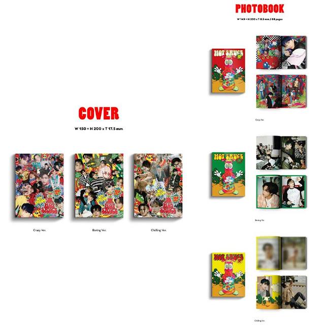 NCT DREAM The 1st Album '맛 (Hot Sauce)'