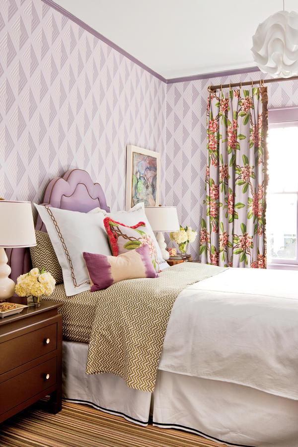 Aesthetic Oiseau Lavender Bedroom Simple Lavender Bedroom