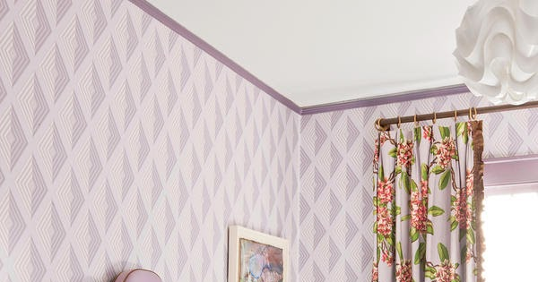 Aesthetic Oiseau Lavender Bedroom