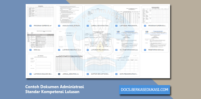Contoh Dokumen Administrasi Standar Kompetensi Lulusan