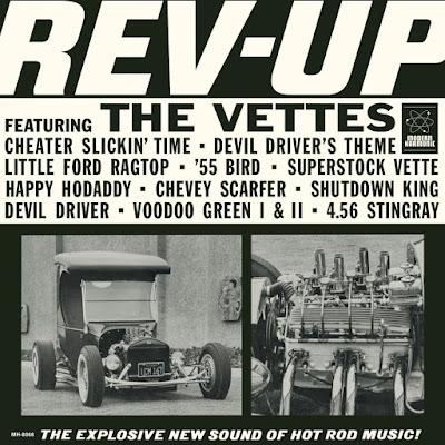The Vettes - Rev-Up (1964 2018 USA)
