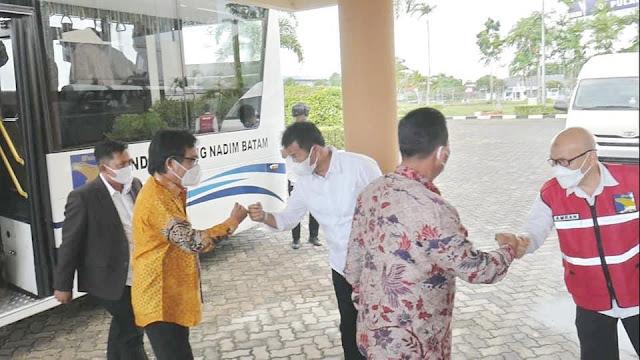 Rudi Sambut Rombongan Komisi V DPR RI bersama Kementerian PUPR