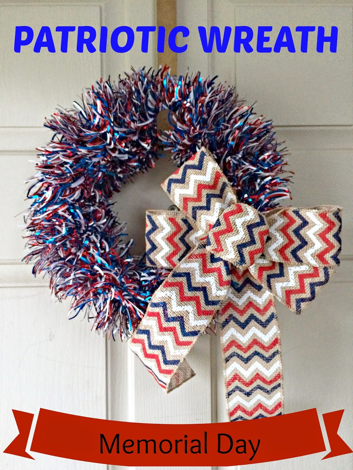 Patriotic Wreath DIY - We Got The Funk