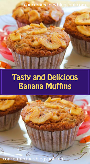 Tasty and Delicious Banana Muffins