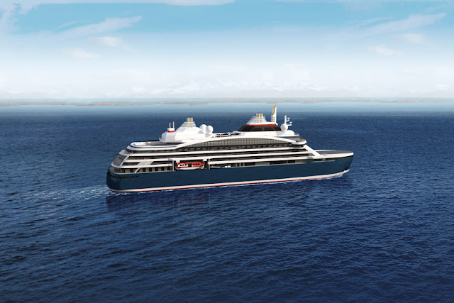 New Expedition Luxury Cruise Ship Ponant's Ponant Cruises Le Commandant Charcot To Sail the Antarctica in 2021 - 2022