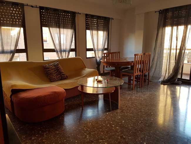 piso en alquiler ronda mijares castellon salon1