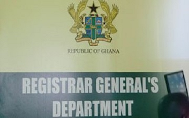 Ghana Registrar General warns companies to re-register and file returns