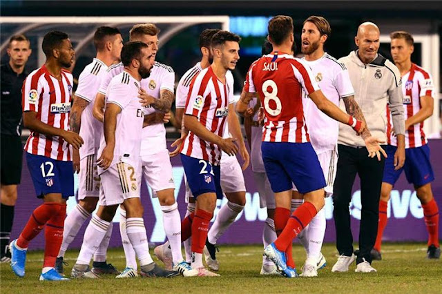 تعرف على قائمة ريال مدريد التي ستخوض مباراة الديربي