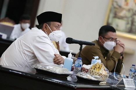 Gubernur WH: Provinsi Banten Pada Pandemi Covid-19 Semakin Membaik