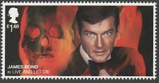2020 £1.60 Roger Moore in Live & Let Die ex James Bond