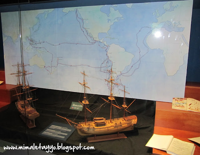 Expedición científica Malaspina – Bustamante, Museo Marítimo del Cantábrico, Santander